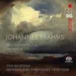 ディーナ・ウゴルスカヤ/ブラームス:ピアノ協奏曲第1番、他