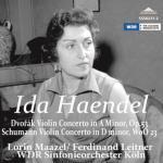 イダ・ヘンデル/ドヴォルザーク、シューマン:ヴァイオリン協奏曲