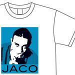 【ジャコ・パストリアス】ジャコの音楽魂溢れるデザインTシャツを発売。