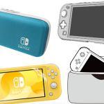 Nintendo Switch Lite 発売に合わせてケースや液晶フ...
