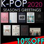 【会員限定!10%OFF!】K-POP 2020 シーズングリーティン...