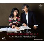 児玉麻里、ナガノ/ベートーヴェン:ピアノ協奏曲全集、他(4SACD)