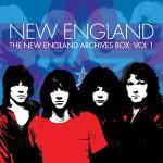 NEW ENGLAND のレア音源を多数収録した5枚組アーカイヴボック...