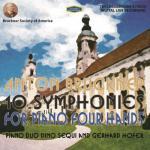 【発売中】ブルックナー:4手ピアノによる交響曲全集(第0〜9番)