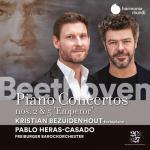 ベズイデンホウト/ベートーヴェン:ピアノ協奏曲第5番『皇帝』、第2番