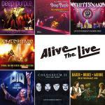 Alive The Live 1月最新リリースにディープ・パープル、ホ...