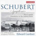 ガードナー&バーミンガム市響/シューベルト:交響曲第2番、第6番