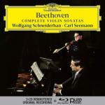 シュナイダーハン/ベートーヴェン:ヴァイオリン・ソナタ全集(3CD+B...