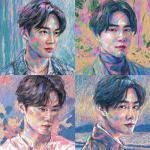 SUHO (EXO) 1stソロ・ミニアルバム『自画像 (Self-P...