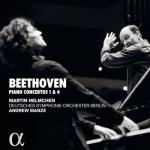 ヘルムヒェン、マンゼ/ベートーヴェン:ピアノ協奏曲第1、4番