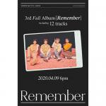 【先着特典あり】WINNER 3rdフルアルバム『Remember』