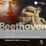 ベルリン古楽アカデミー/ベートーヴェン:交響曲第1番&第2番、他