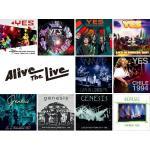 Alive The Liveシリーズ 8月発売にイエス、ジェネシスなど...