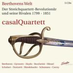 カザル四重奏団/『ベートーヴェンの世界 1799〜1851』(5CD)
