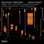 アンジェラ・ヒューイット/ベートーヴェン:変奏曲集