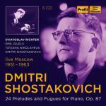 リヒテル、他/ショスタコーヴィチ:24の前奏曲とフーガ(5CD)