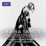 バイバ・スクリデ/モーツァルト:ヴァイオリン協奏曲全集(2CD)