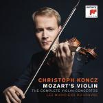 クリストフ・コンツ/モーツァルト:ヴァイオリン協奏曲全集(2CD)
