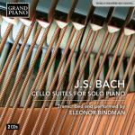 【発売】ビンドマン/ピアノ独奏版 バッハ:無伴奏チェロ組曲全曲(2CD...