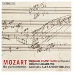 【発売】ブラウティハム/モーツァルト:ピアノ協奏曲全集(12SACD)
