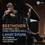 ラハフ・シャニ/ベートーヴェン:交響曲第7番、ピアノ協奏曲第4番