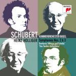 ホリガー&バーゼル室内管/シューベルト:交響曲第2、3番、序曲集