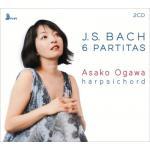 小川麻子(チェンバロ)/バッハ:6つのパルティータ 全曲(2CD)