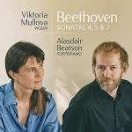 【発売】ムローヴァ/ベートーヴェン:ヴァイオリン・ソナタ第4、5、7番