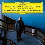 ネルソンス&ゲヴァントハウス管/ブルックナー:第2番&第8番、他(2C...