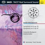 ケラー/ショスタコーヴィチ:交響曲第5番『革命』、第9番
