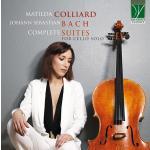 マチルダ・コリャール/バッハ:無伴奏チェロ組曲全曲(2CD)