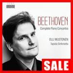 【在庫特価】ムストネン/ベートーヴェン:ピアノ協奏曲全集(3CD)