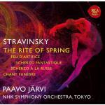 【発売】P・ヤルヴィ&N響/ストラヴィンスキー:『春の祭典』、他