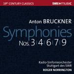ノリントン/ブルックナー:交響曲第3、4、6、7、9番(5CD)