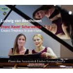 シャルヴェンカ編曲4手ピアノ版ベートーヴェン:交響曲全集(5CD)