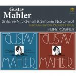 レーグナー&ベルリン放送響/マーラー:第3番、第6番『悲劇的』(3CD...