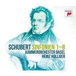 ホリガー&バーゼル室内管/シューベルト:交響曲全集(5SACD)