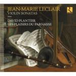プランティエ/ルクレール:ヴァイオリンと通奏低音のためのソナタ集