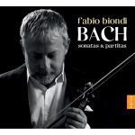 ビオンディ/バッハ:無伴奏ヴァイオリン・ソナタ&パルティータ(2CD)
