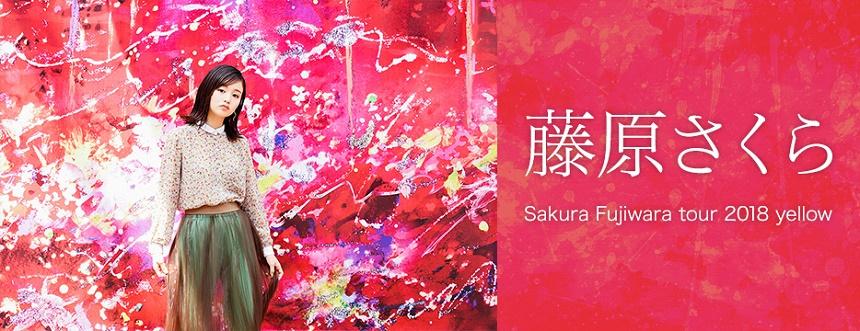 藤原さくら「Sakura Fujiwara Tour 2018」