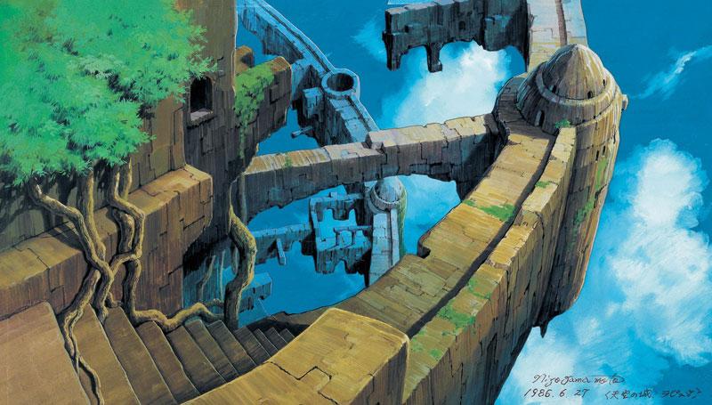日本のアニメーション美術の創造者 「山本二三展」 ―天空の城ラピュタ、火垂るの墓、もののけ姫、時をかける少女―