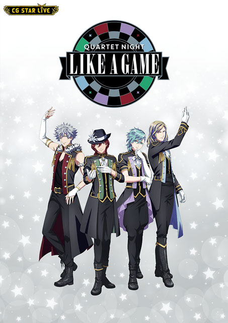 「QUARTET NIGHT LIKE A GAME」Produced by CG STAR LIVE