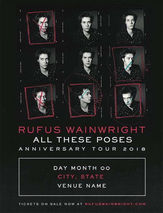 Rufus Wainwright(ルーファス・ウェインライト)