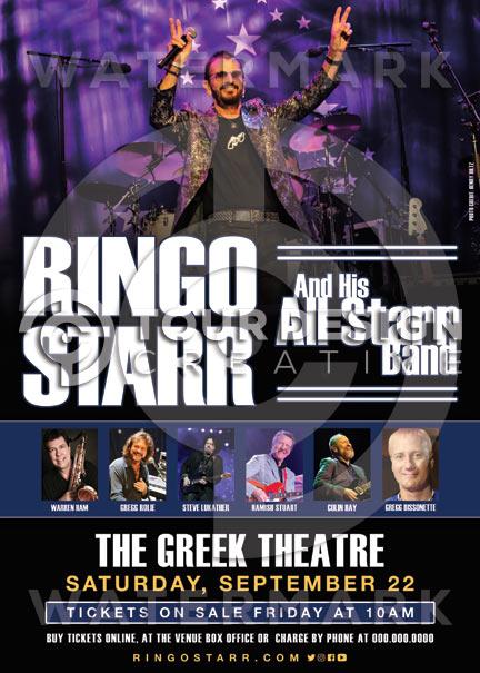 RINGO STARR And His All Starr Band(リンゴ・スター アンド・ヒズ・オール・スター・バンド)
