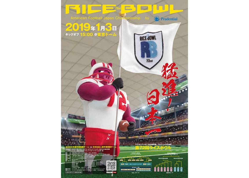 アメリカンフットボール日本選手権 第72回ライスボウル