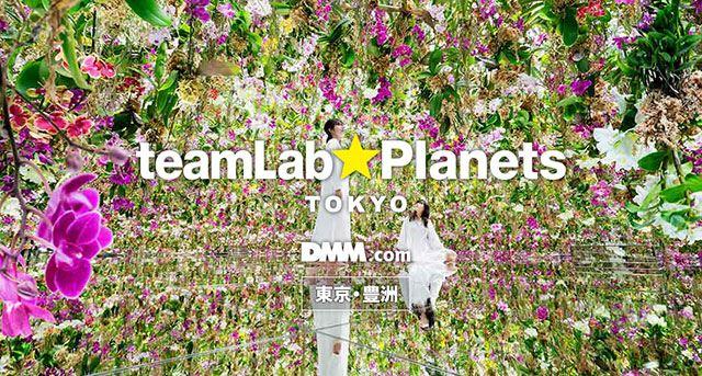 チームラボ プラネッツ TOKYO DMM.com - teamLab Planets TOKYO - 東京・豊洲