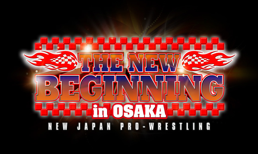 THE NEW BEGINNING in OSAKA