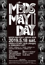 MODS MAYDAY JAPAN 2019