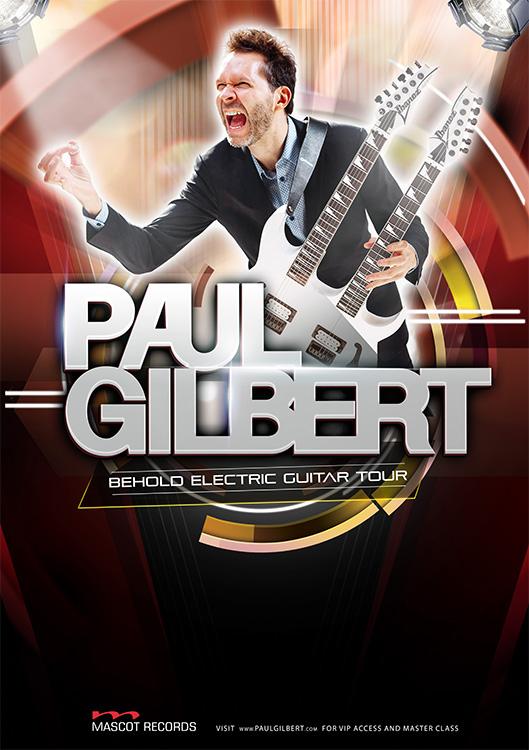 PAUL GILBERT(ポール・ギルバート)