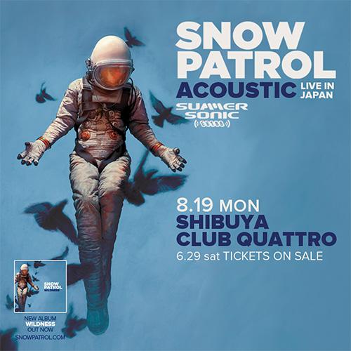 SNOW PATROL(スノウ・パトロール)